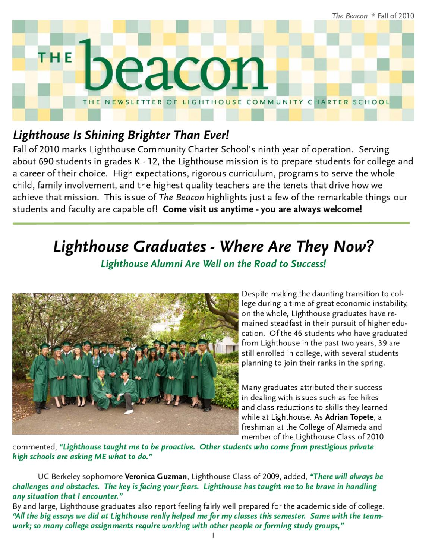lighthouse community charter school reviews