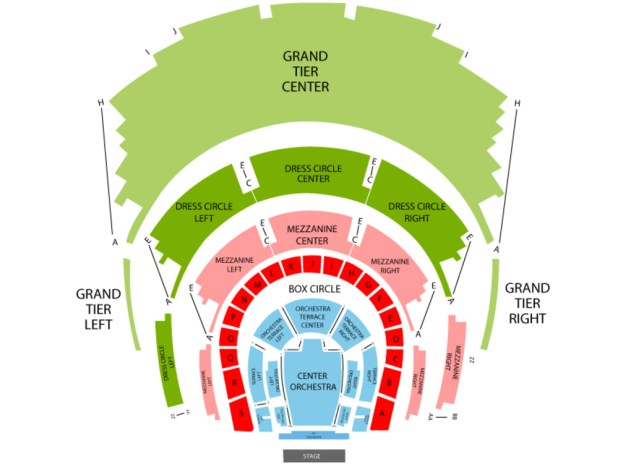 winspear opera house seating chart reviews