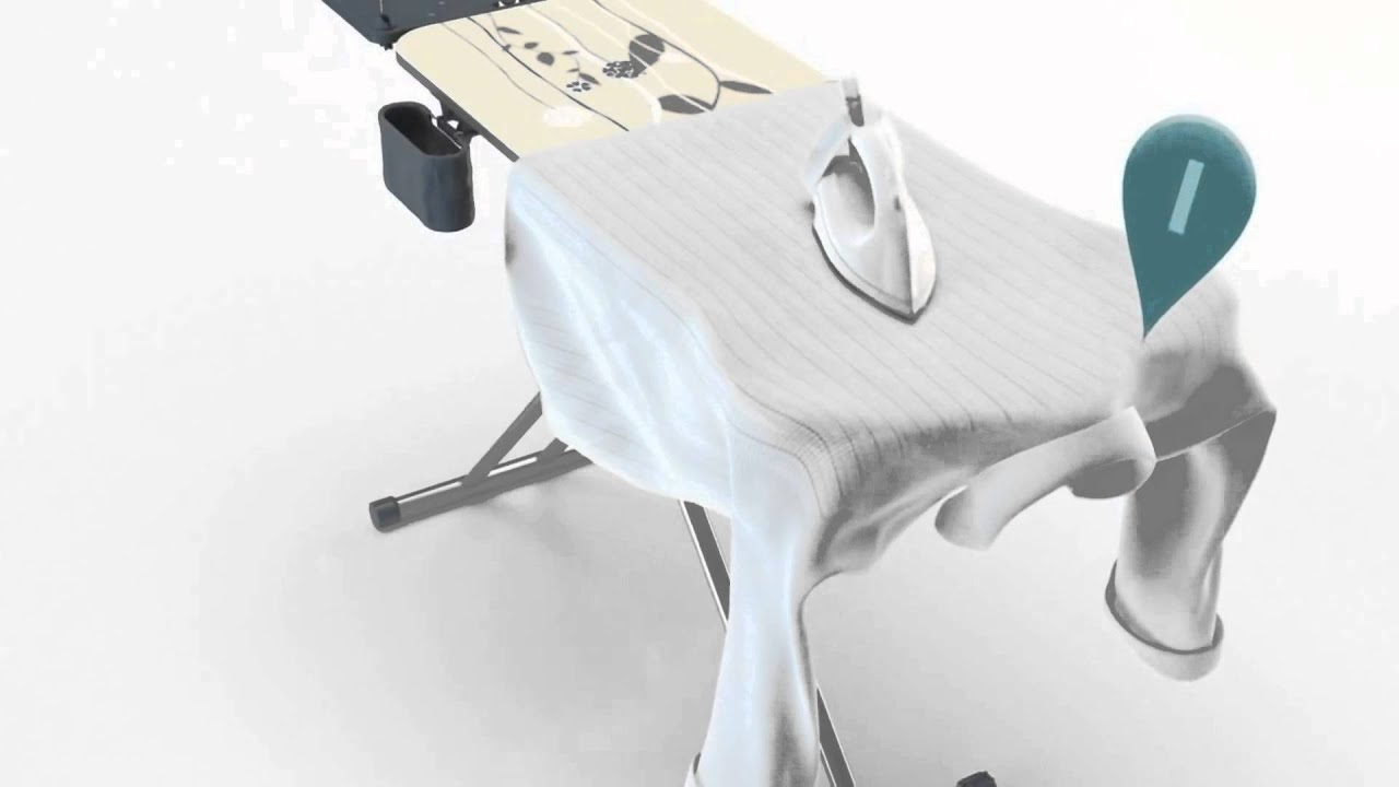 philips easy 8 ironing board review