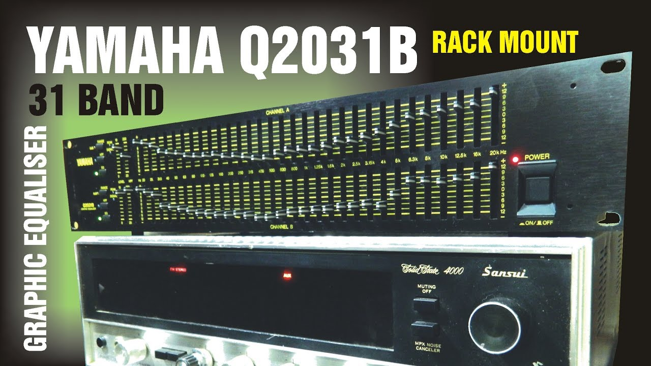 yamaha q2031b graphic equalizer review