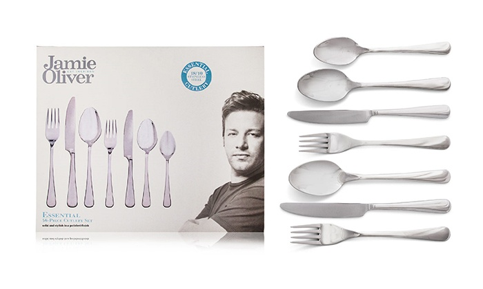jamie oliver cutlery set review