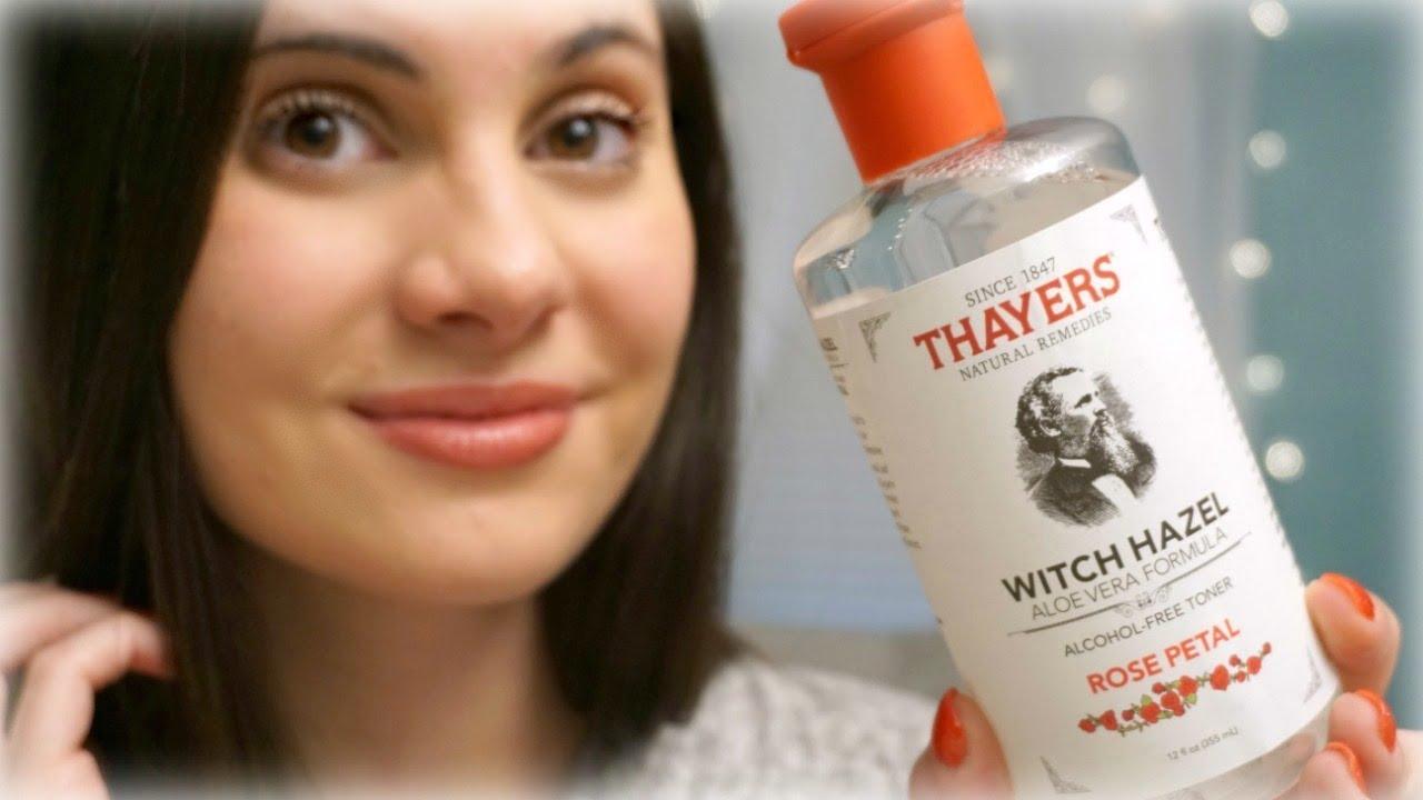 witch hazel rose toner review