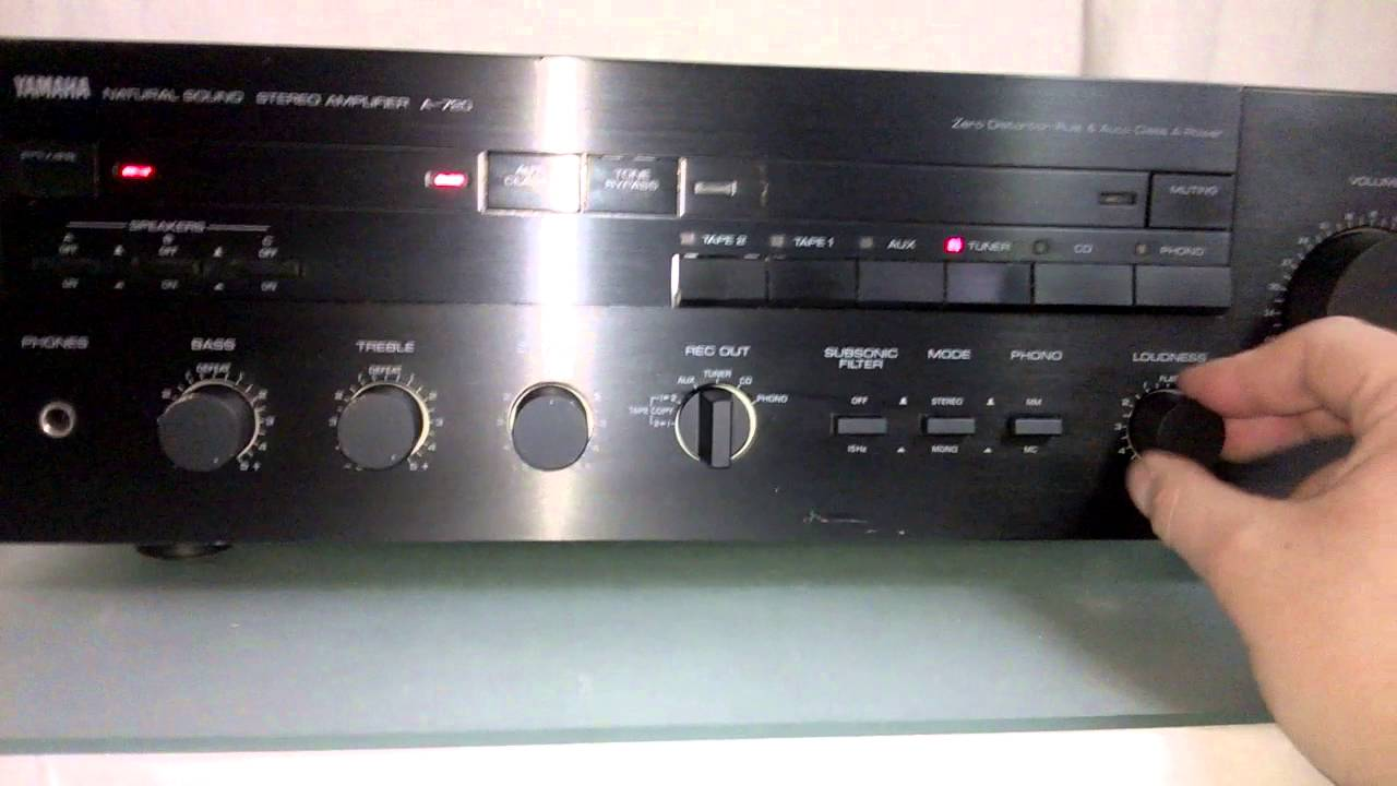 yamaha a 720 amplifier review