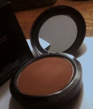 mac studio finish face powder review