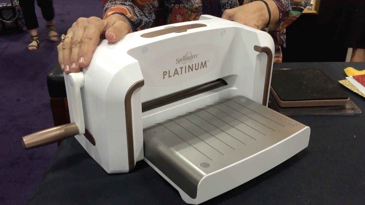 spellbinders platinum die cutting machine reviews