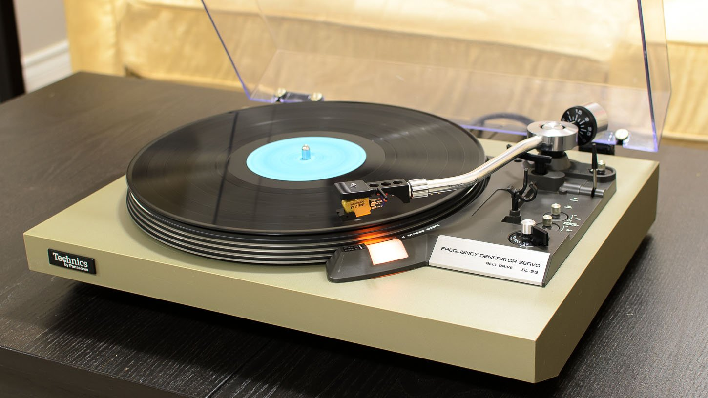 technics sl 23 turntable review