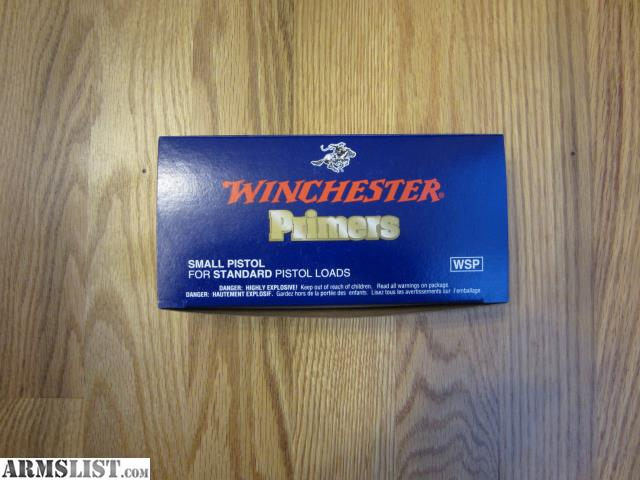 winchester small pistol primers review