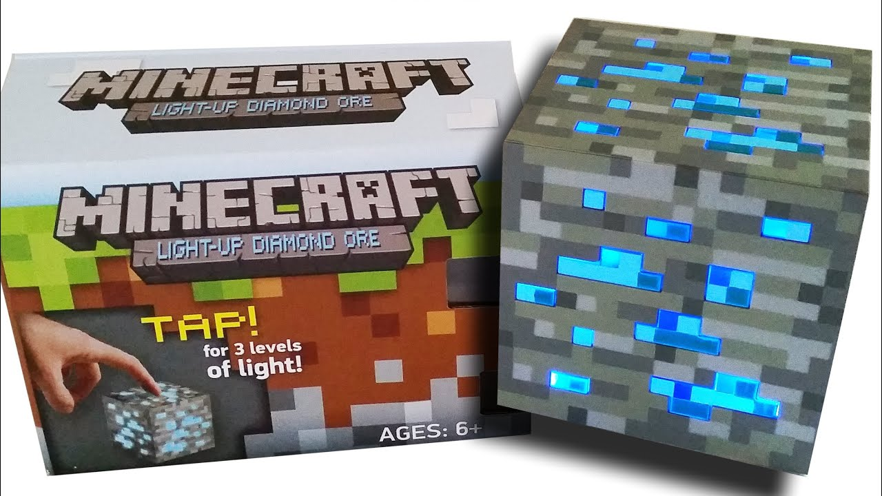 minecraft light up redstone ore review