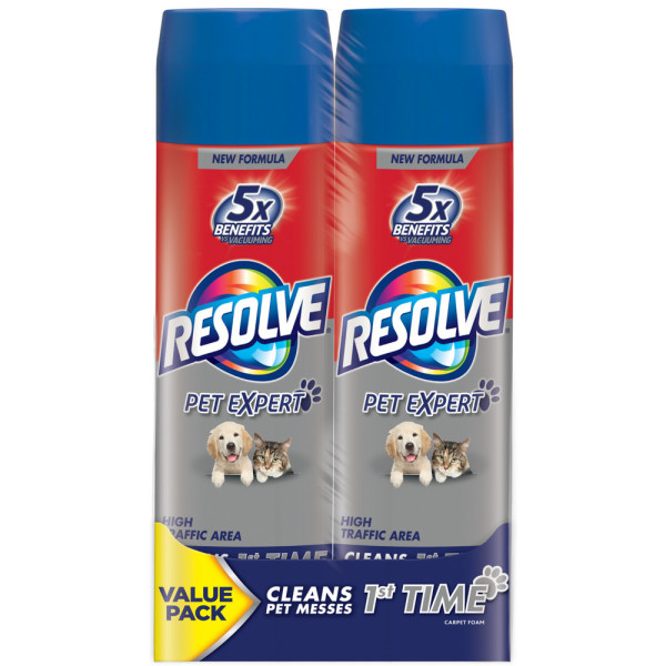resolve pet high traffic foam review