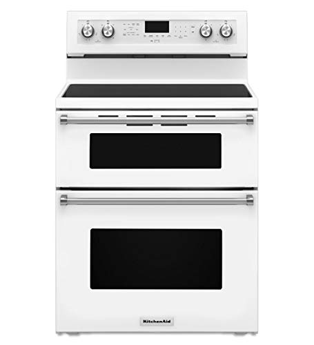 kitchenaid double oven electric range reviews