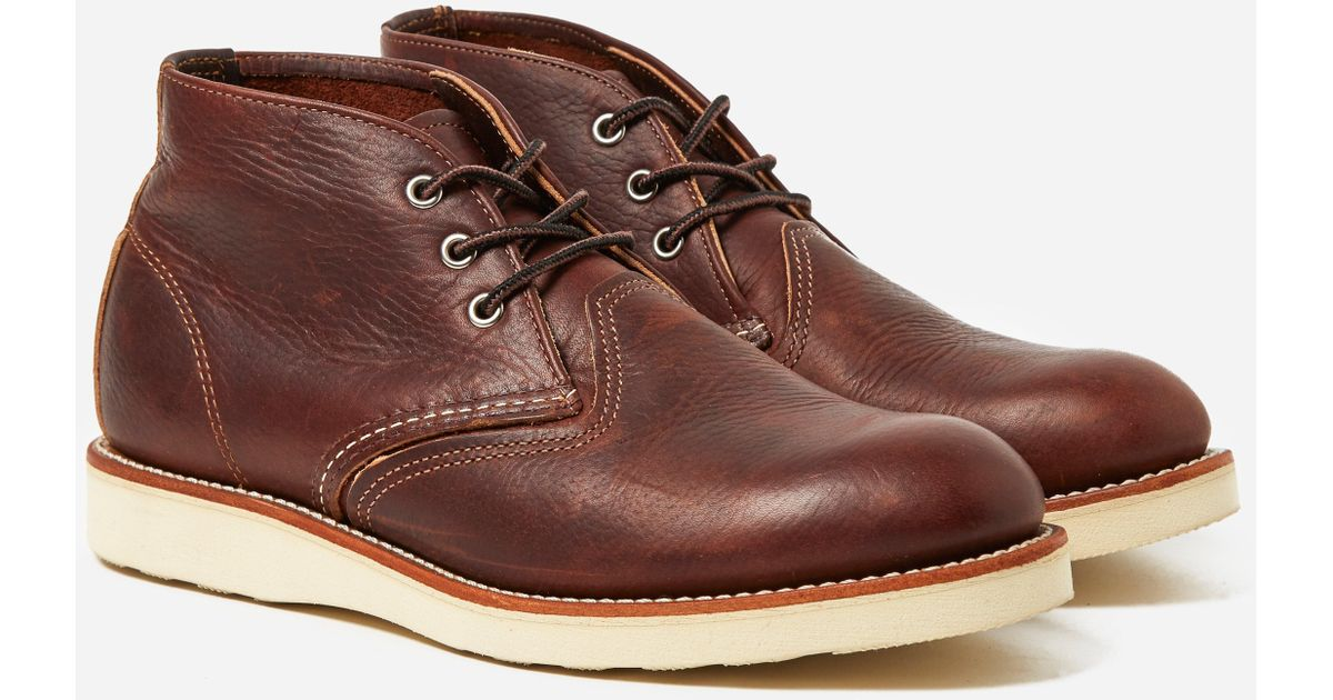 red wing chukka boots review