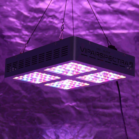 viparspectra reflector series 600w led grow light review