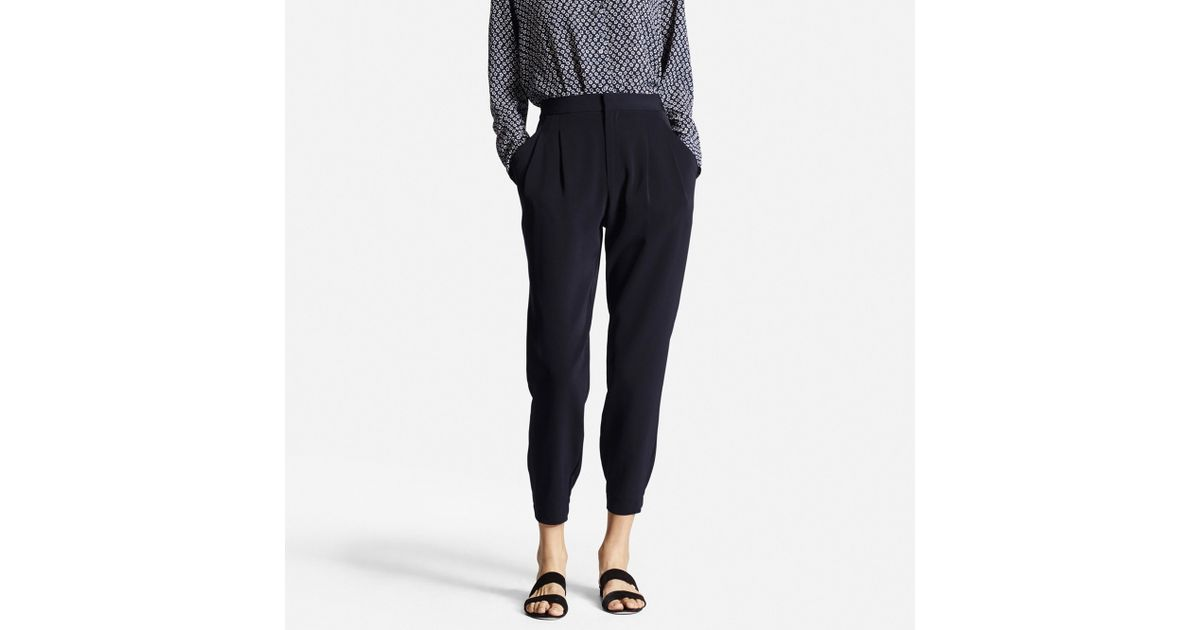 uniqlo drape jogger pants review