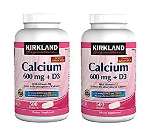 kirkland calcium 600 mg d3 review