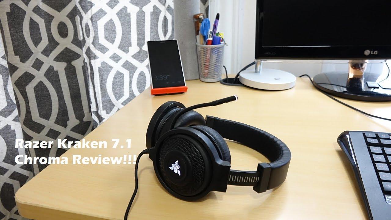 razer kraken 7.1 review cnet