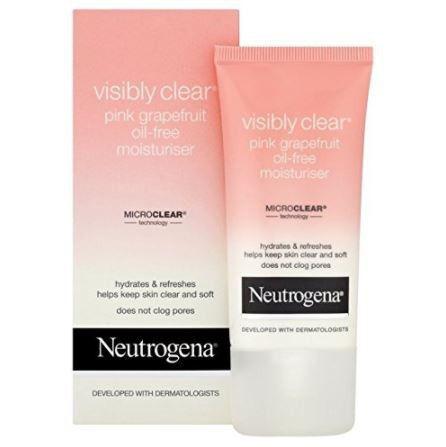 neutrogena pink grapefruit moisturiser review
