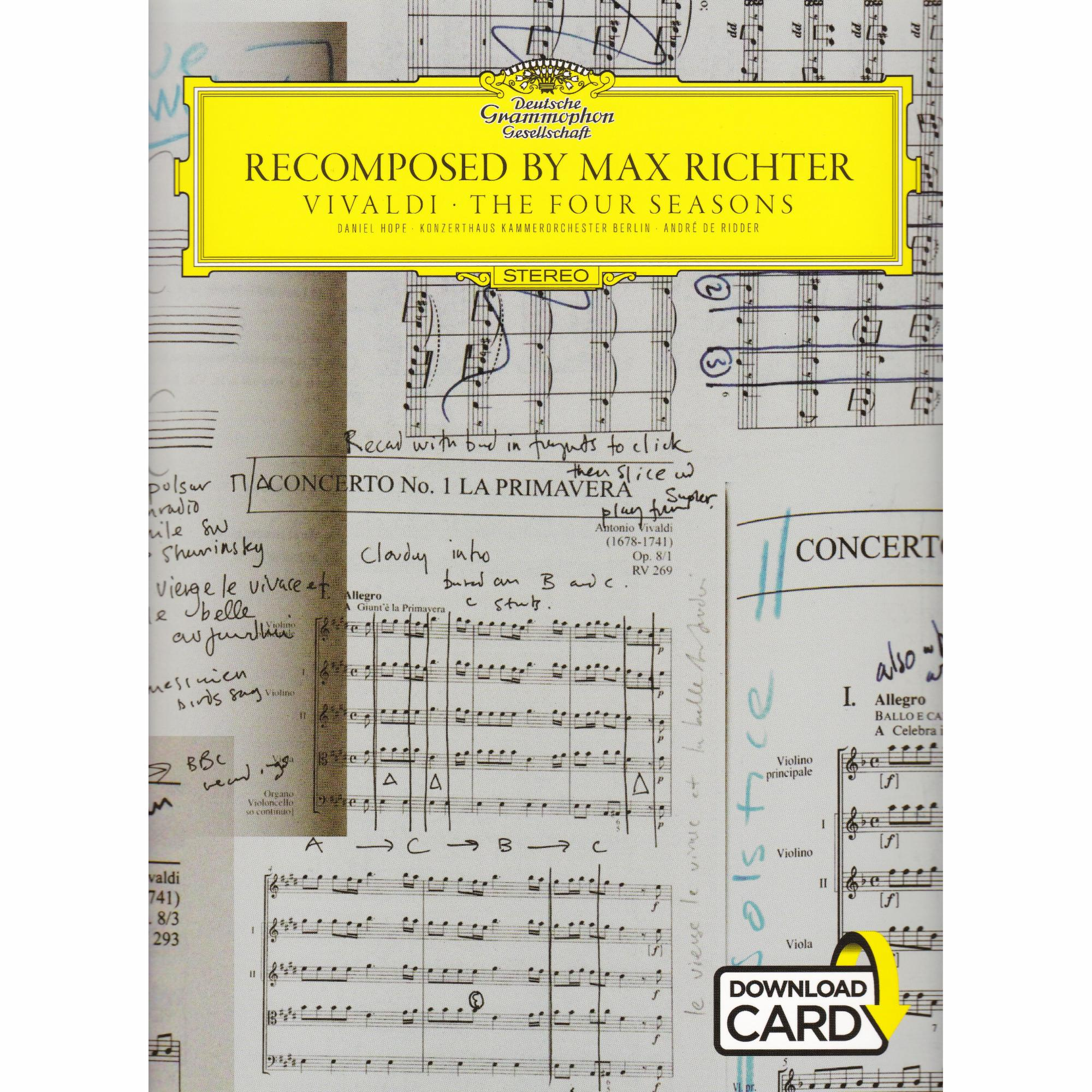 recomposed by max richter vivaldi the four seasons review
