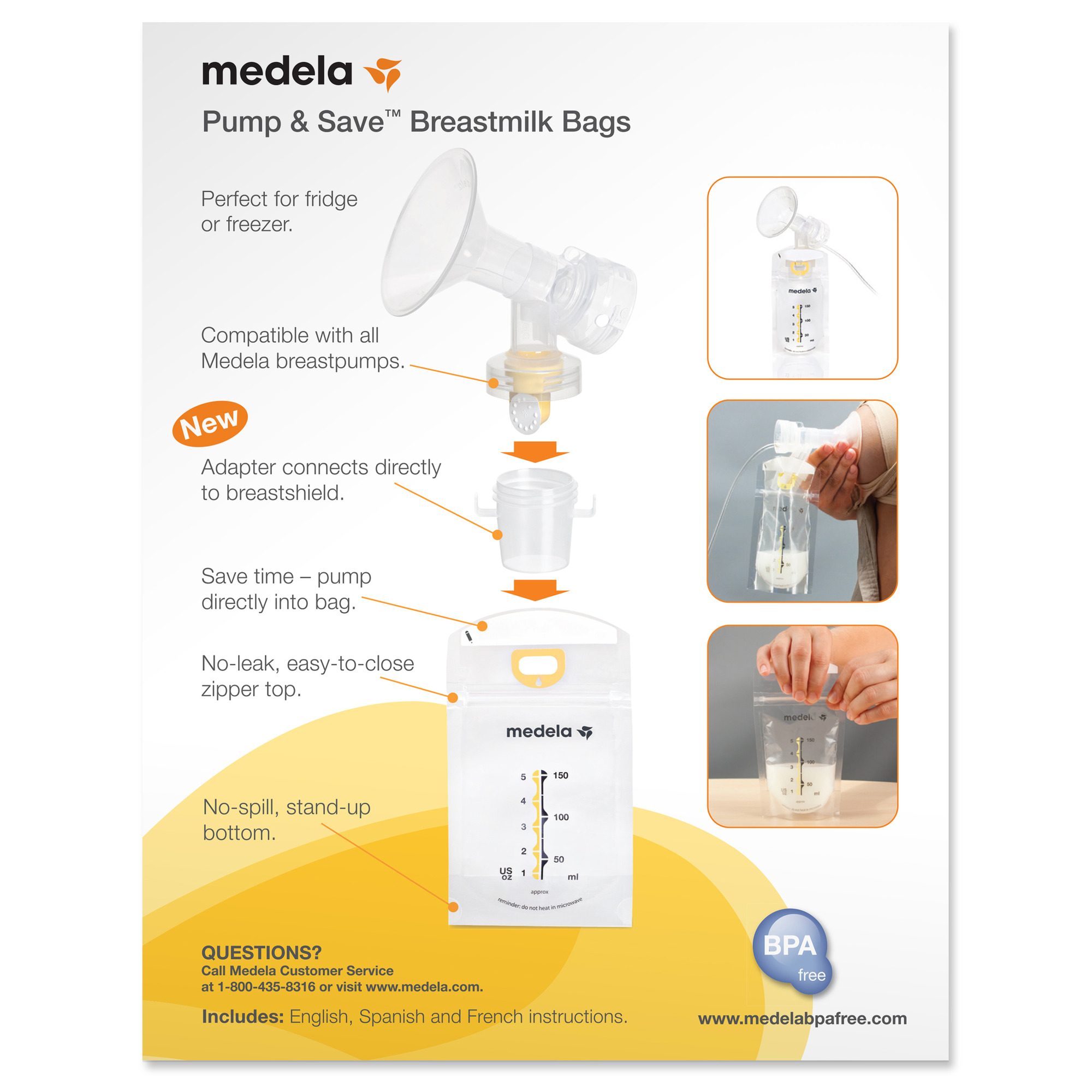 medela pump and save bags review
