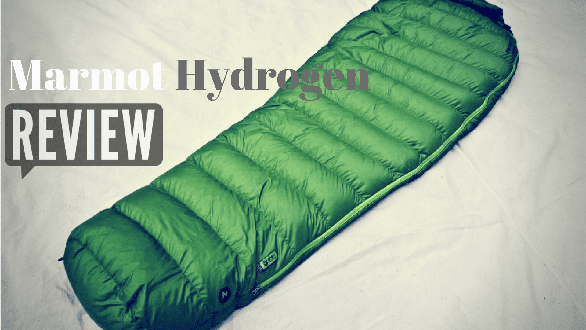 marmot hydrogen down sleeping bag review