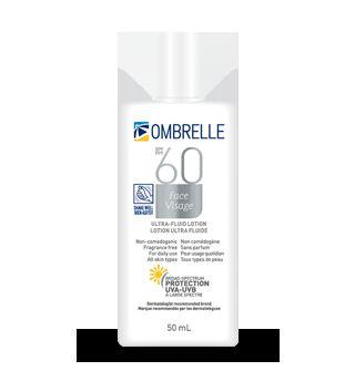 ombrelle ultra fluid spf 60 review