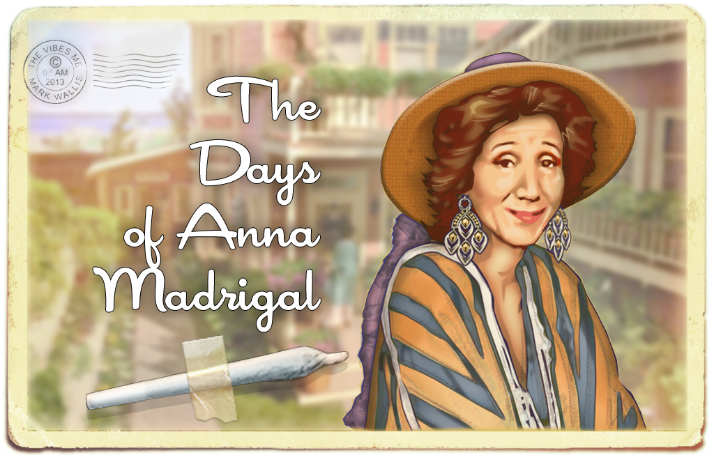 the days of anna madrigal review