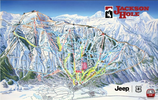 jackson hole wyoming skiing review