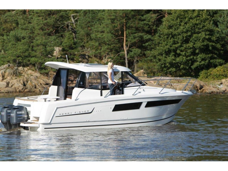 jeanneau merry fisher 895 review