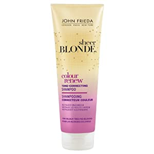 john frieda color correcting shampoo review