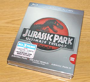 jurassic park trilogy blu ray review