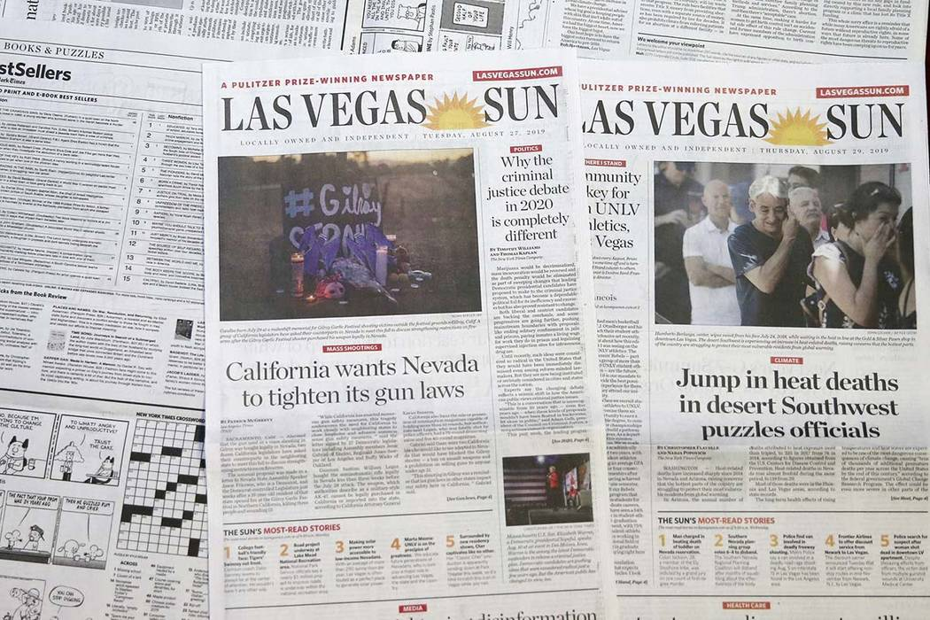 las vegas review journal classified
