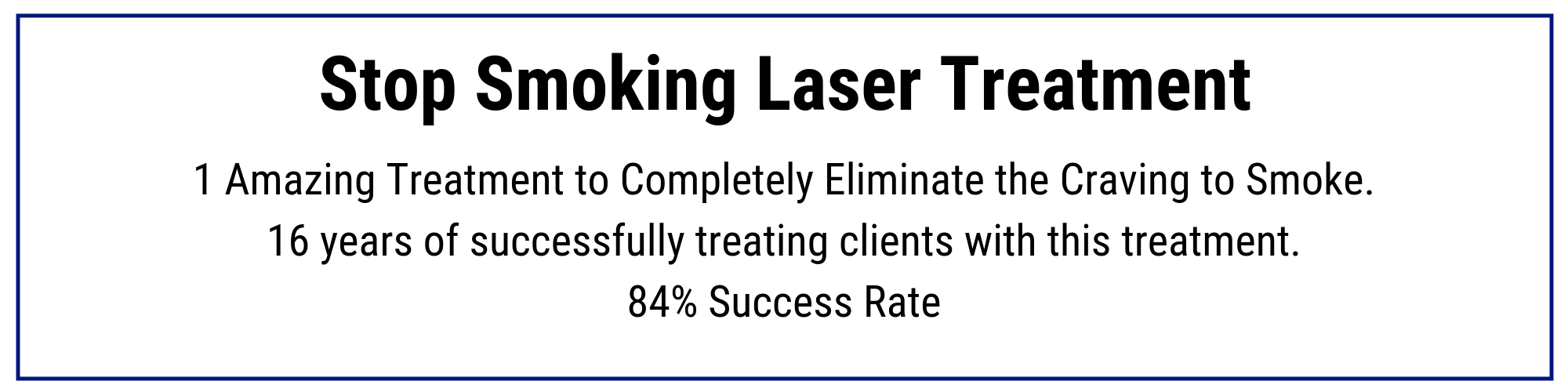 laser surgery to quit smoking reviews