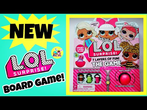 lol surprise board game review