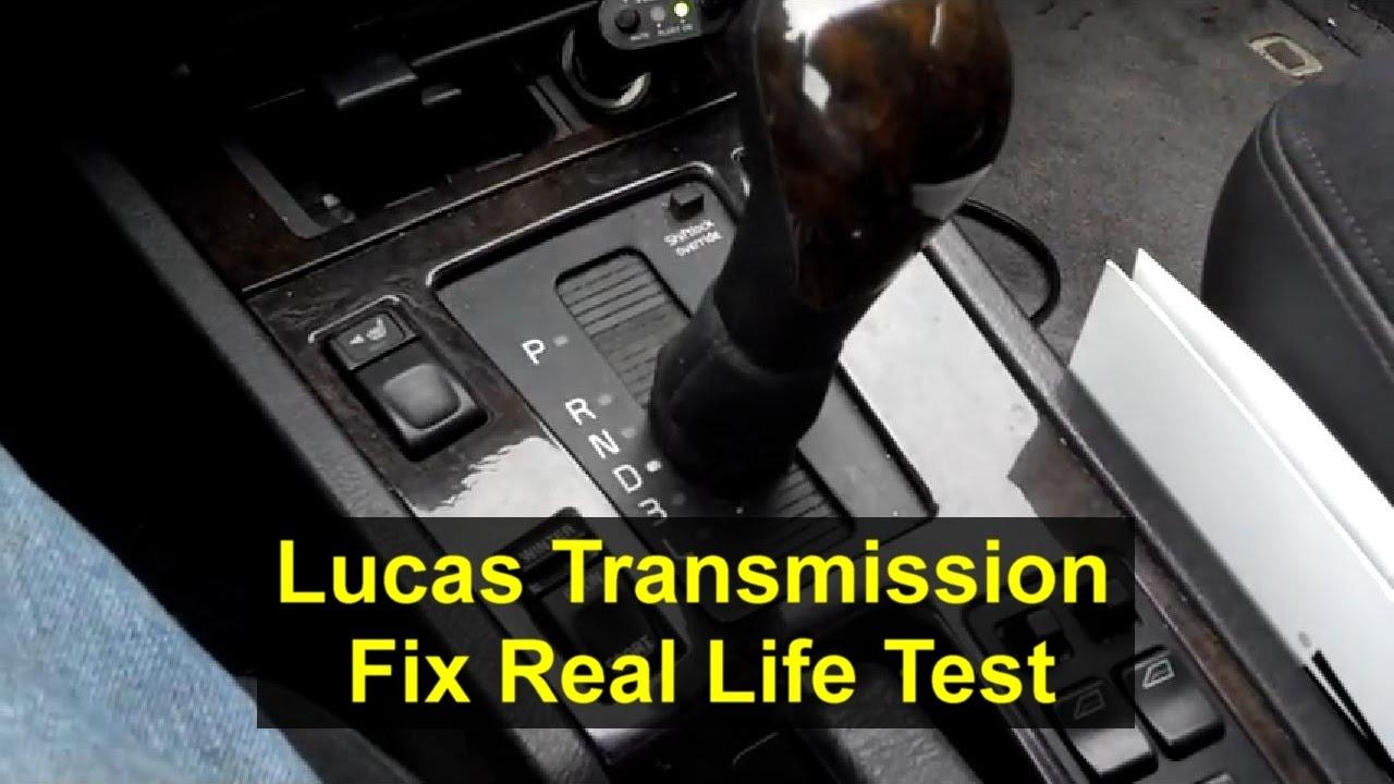 lucas oil transmission fix reviews