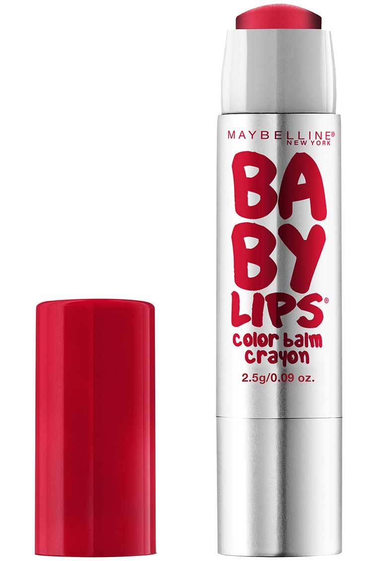 maybelline baby lips color balm crayon review