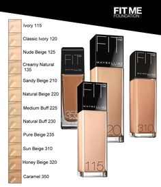 maybelline fit me foundation 115 ivory review