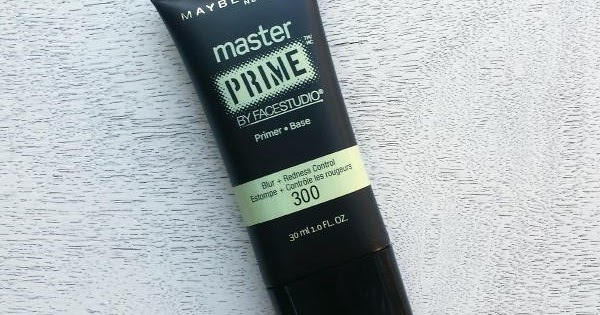 maybelline master prime blur and redness control review