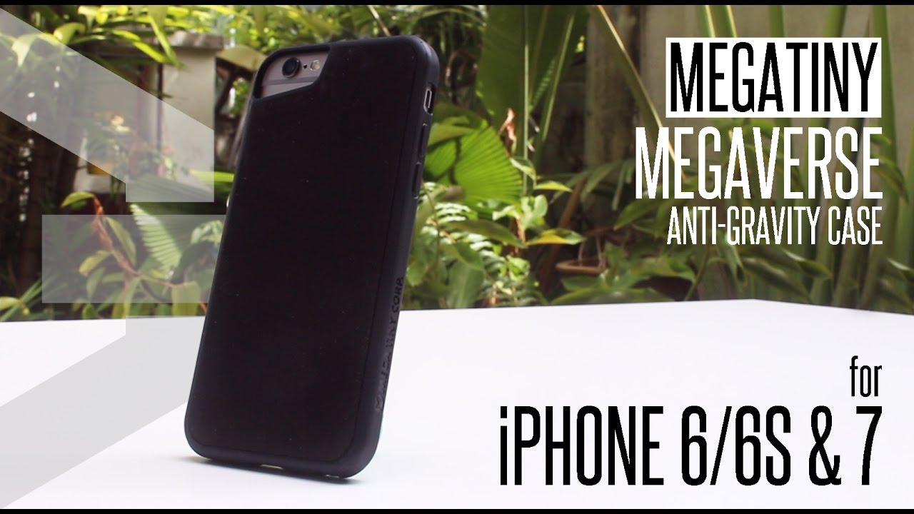 mega tiny anti gravity case review