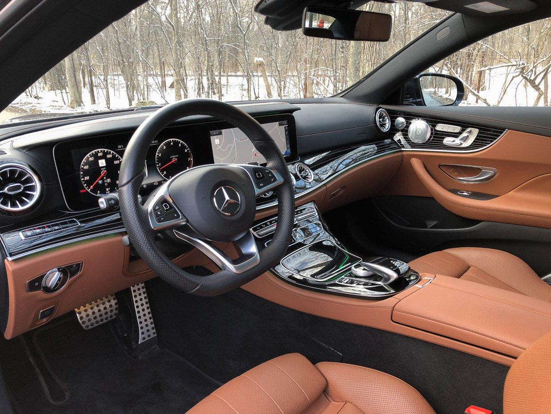 mercedes benz e400 coupe review