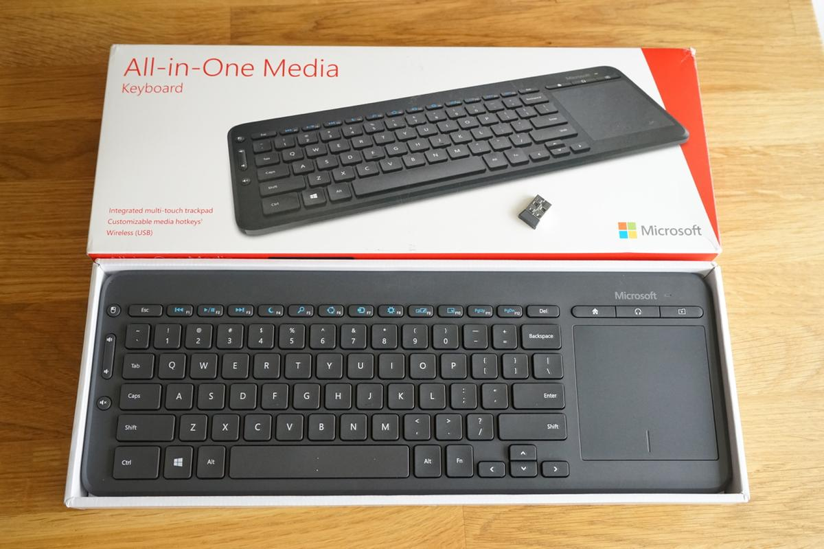 microsoft all in one wireless media keyboard review