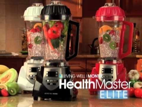 montel williams health master blender reviews
