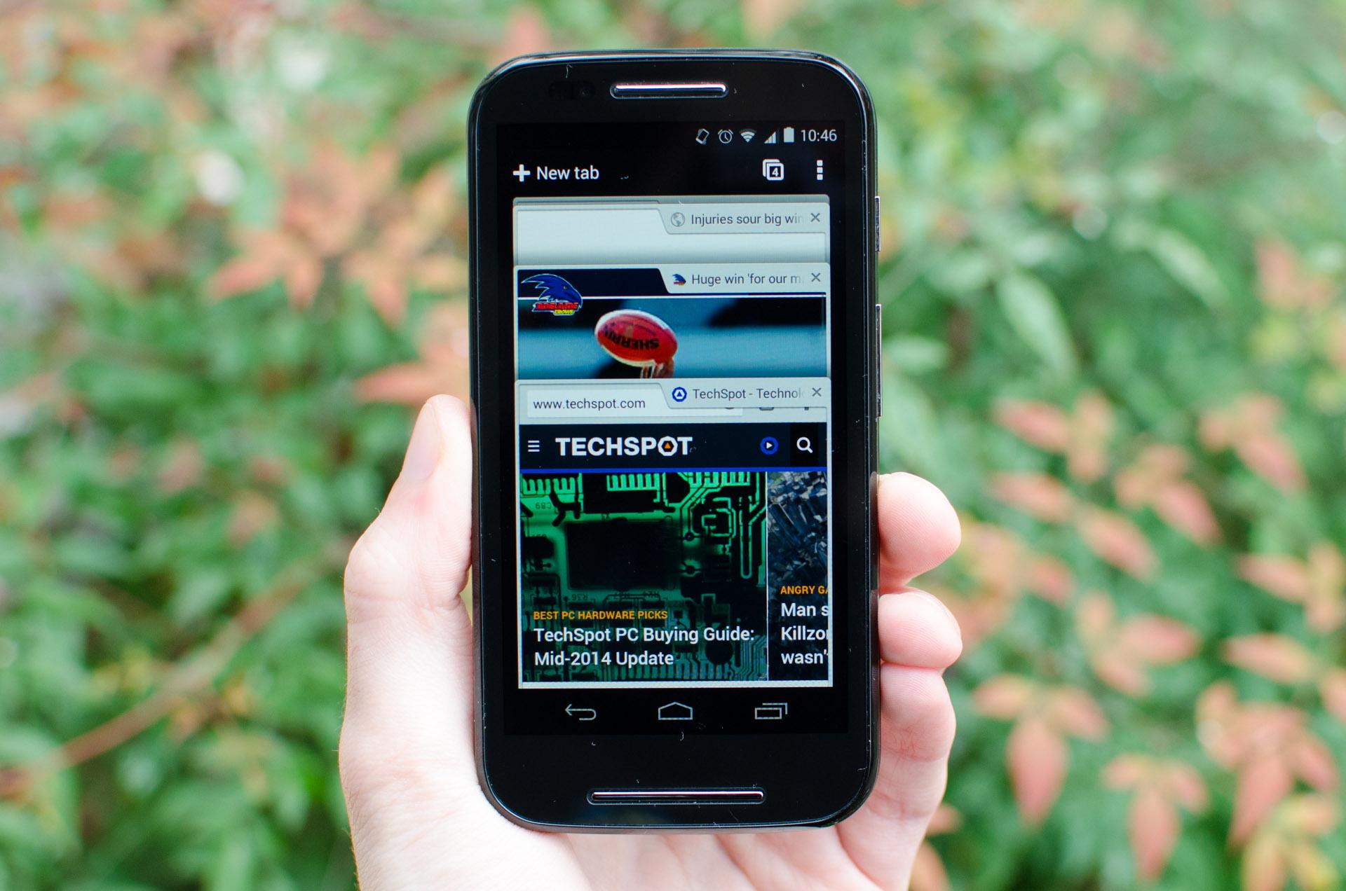 motorola moto e smartphone review