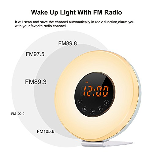 natural sunlight alarm clock reviews