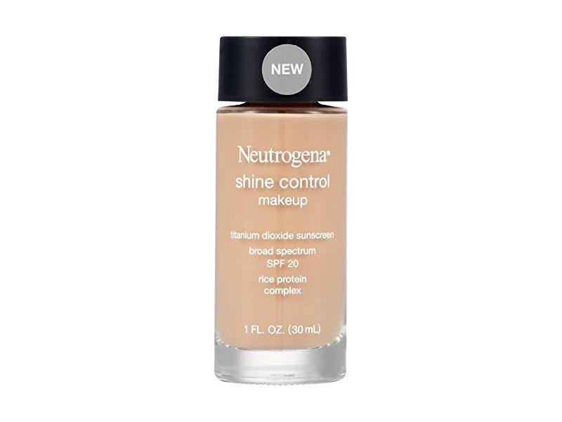 neutrogena shine control makeup review