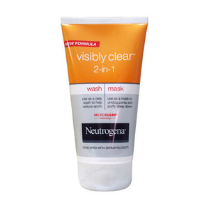 neutrogena visibly clear mask review