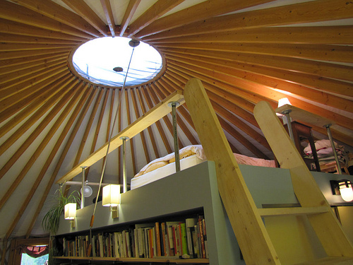 nickerson state park yurt review