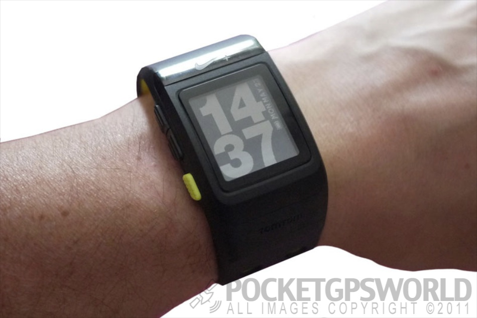 nike sport watch with tomtom gps review