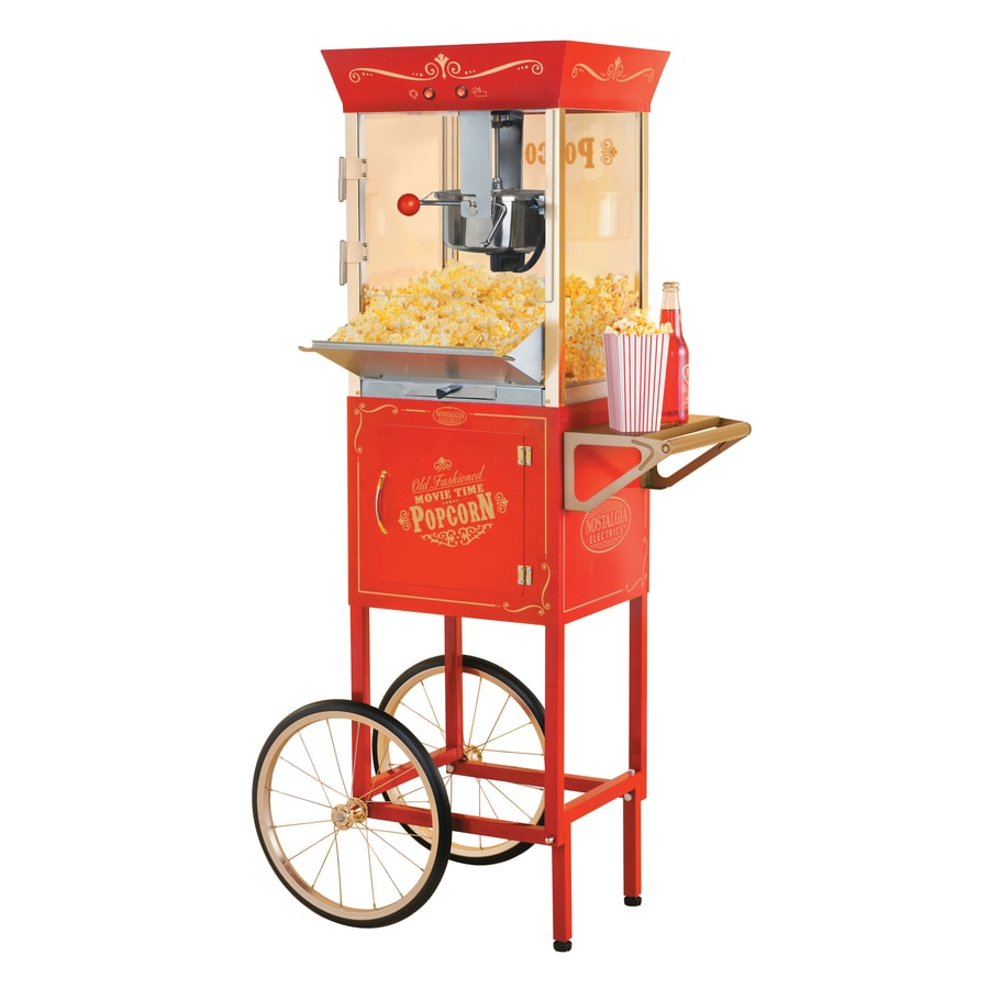 nostalgia electrics popcorn maker reviews