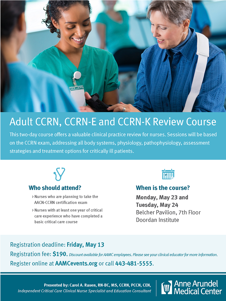 nurse educator certification review course