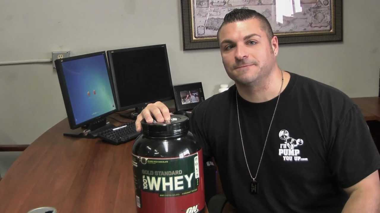 optimum gold standard 100 whey review