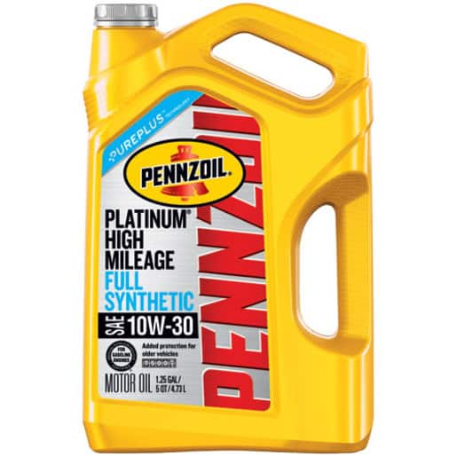 pennzoil high mileage 5w30 review